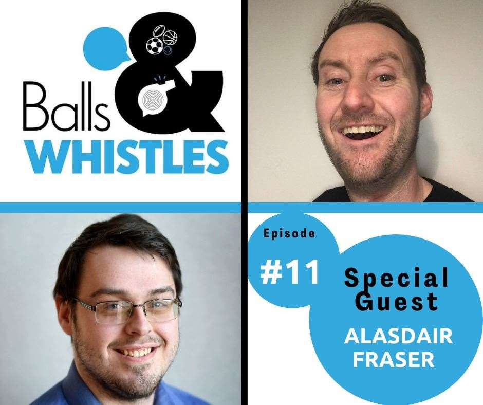 Listen to a new episode of Balls & Whistles now!
