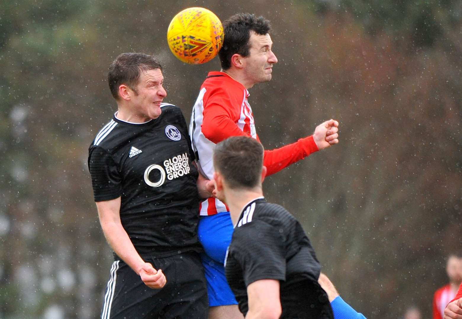 Eight is great to put Invergordon clear at the top of the league