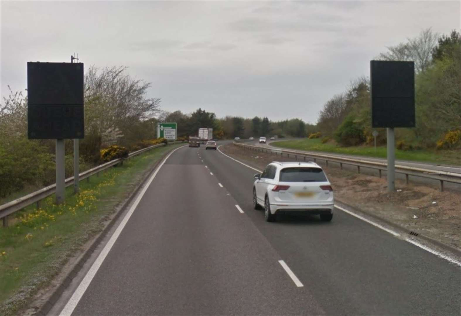 Electronic safety signs to be brought back into use near notorious A9 accident blackspot