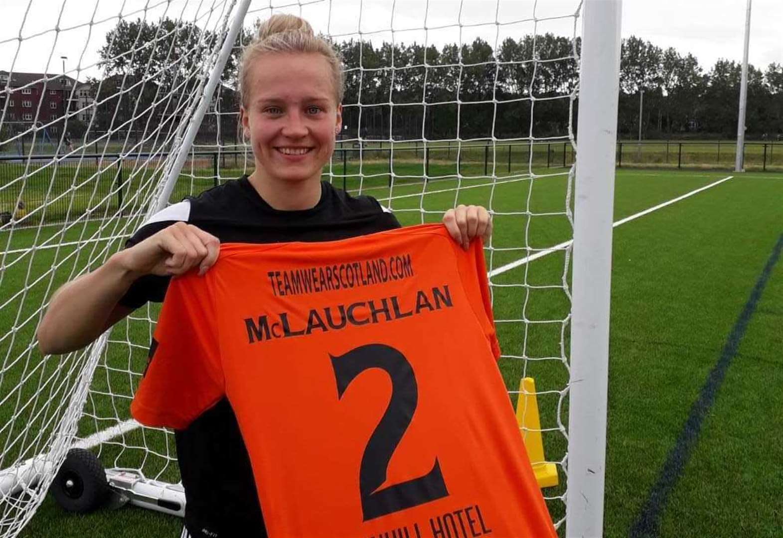 Black Isle footballer signs for Scottish champions