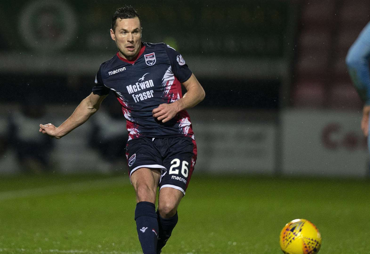 Points over performances for Ross County's Cowie