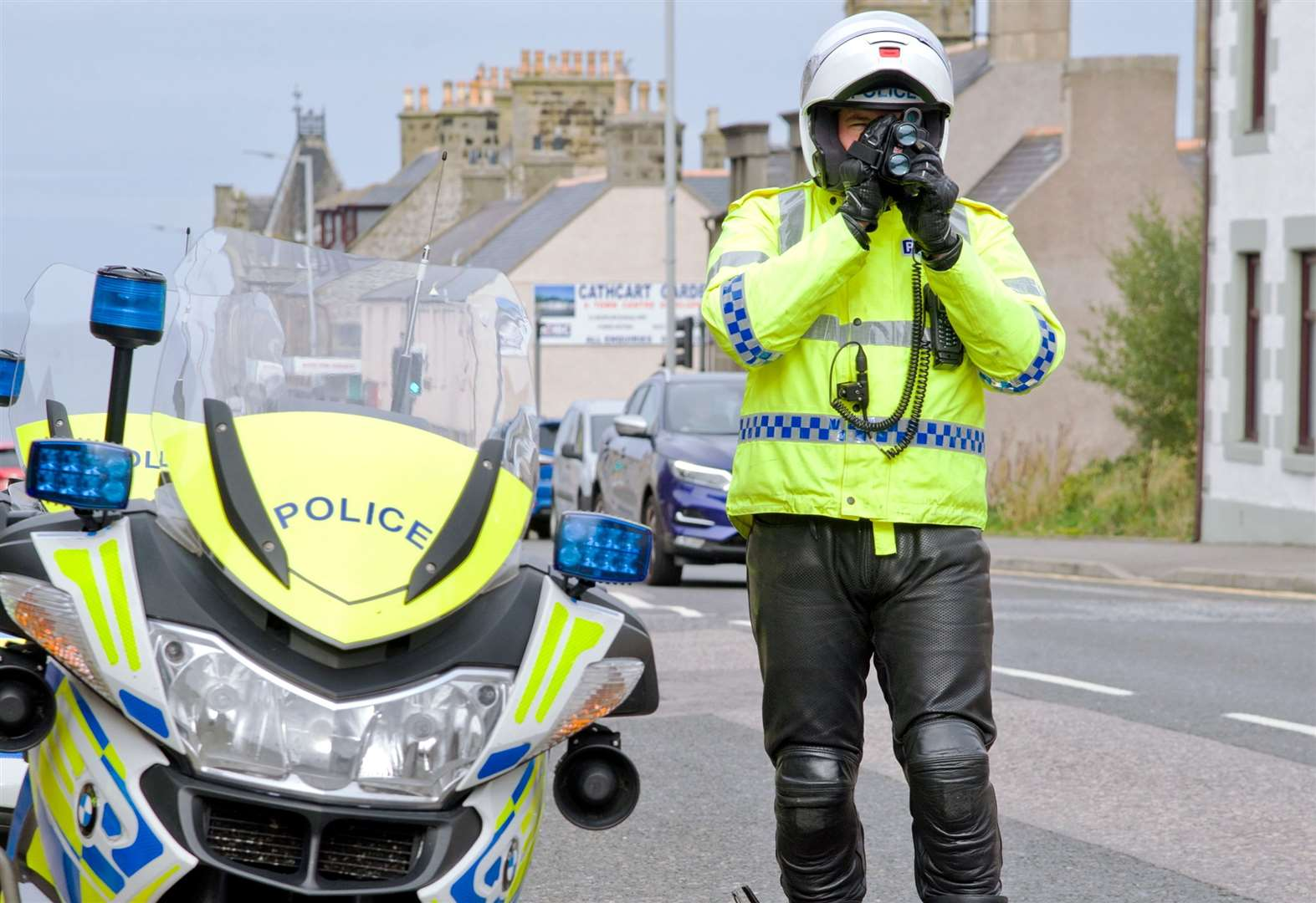Road police issue warning after detecting ton-up bikers on Highland route