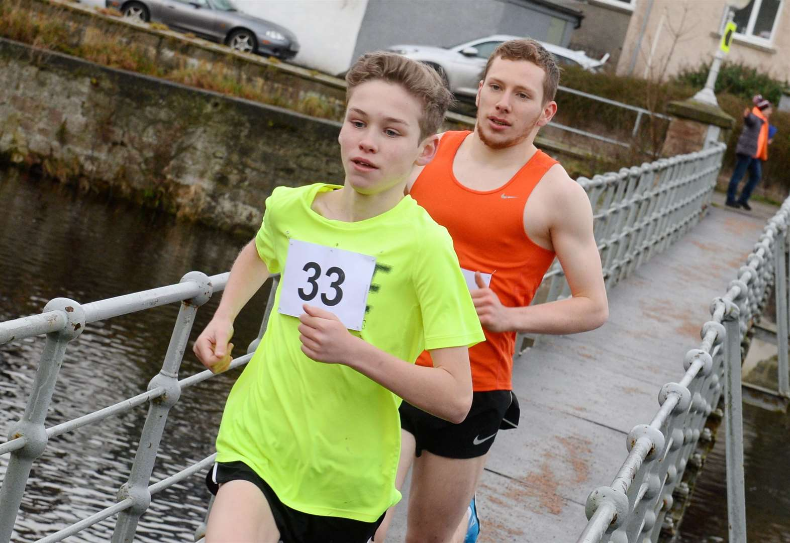 Fortrose teenager takes on top athletes from across Europe in Northern Ireland