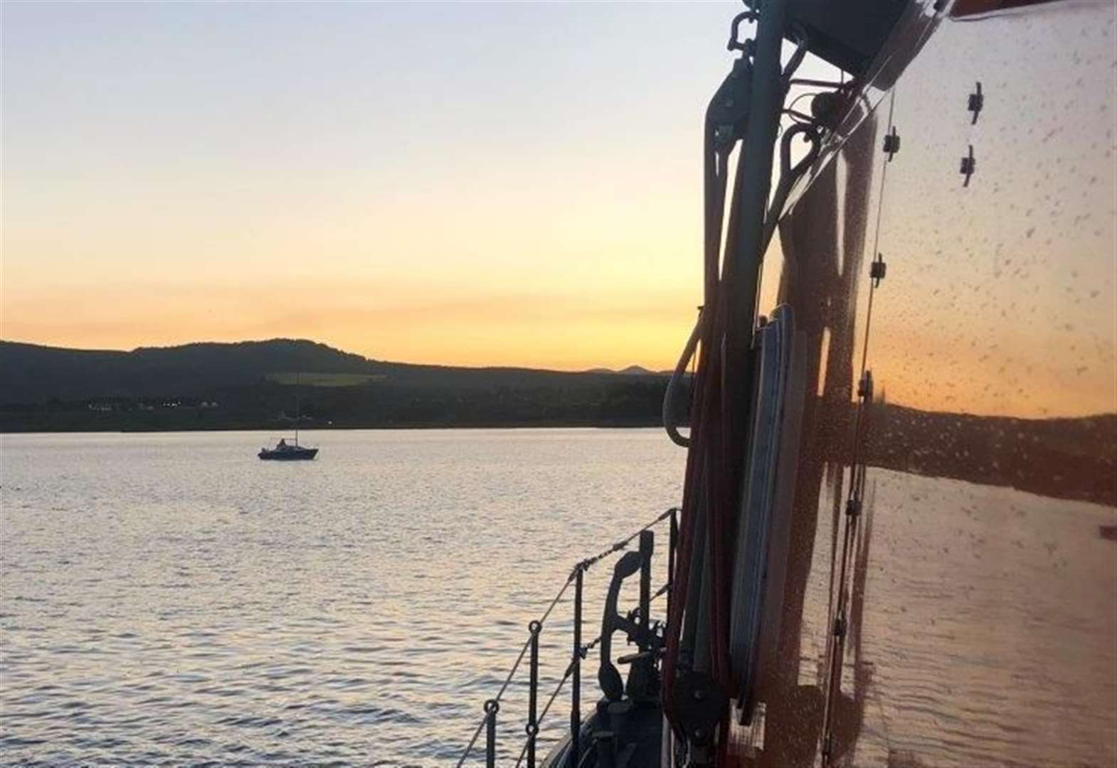 Sailors plucked from stricken vessel in Invergordon RNLI lifeboat alert