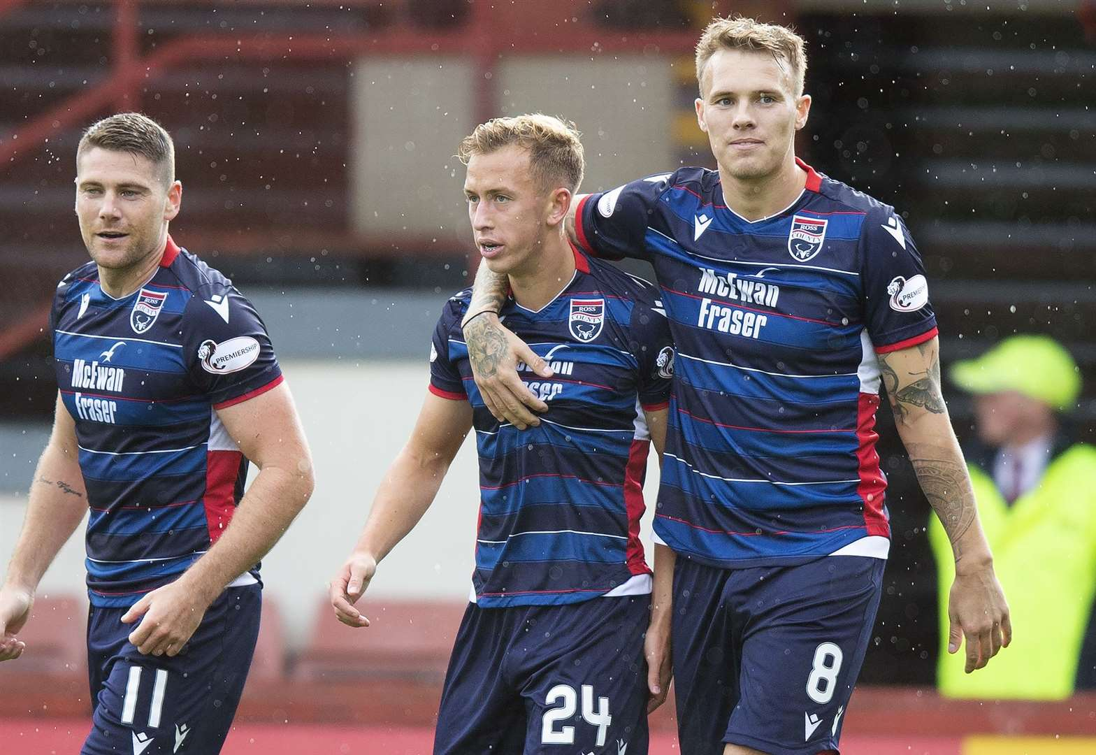 Ross County striker finally fit after Iranian exile