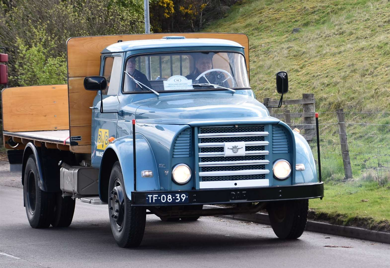 Final destination of next Highland commercial vehicle run revealed as event hailed great success