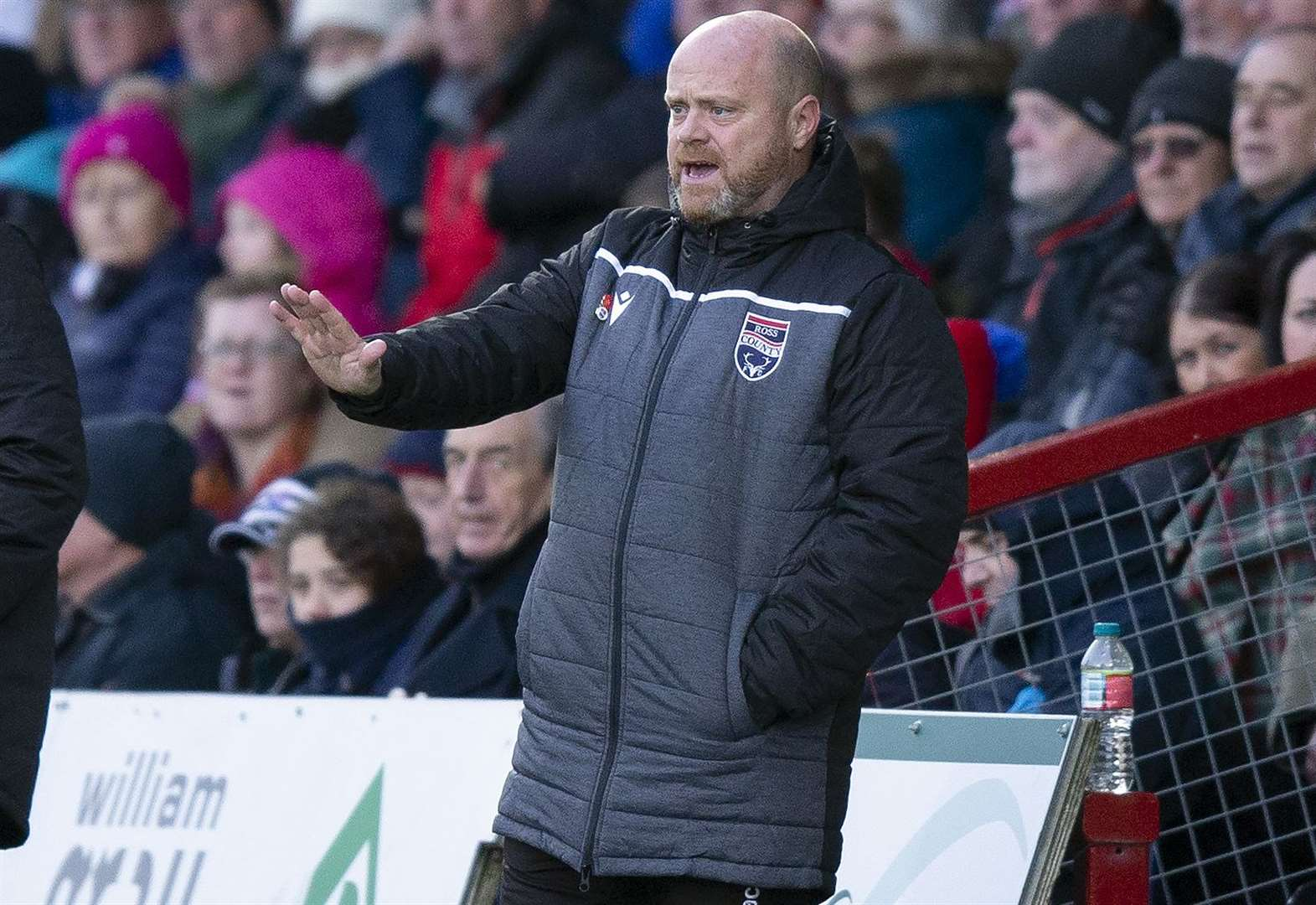Stop making it easy demands Ross County co-manager