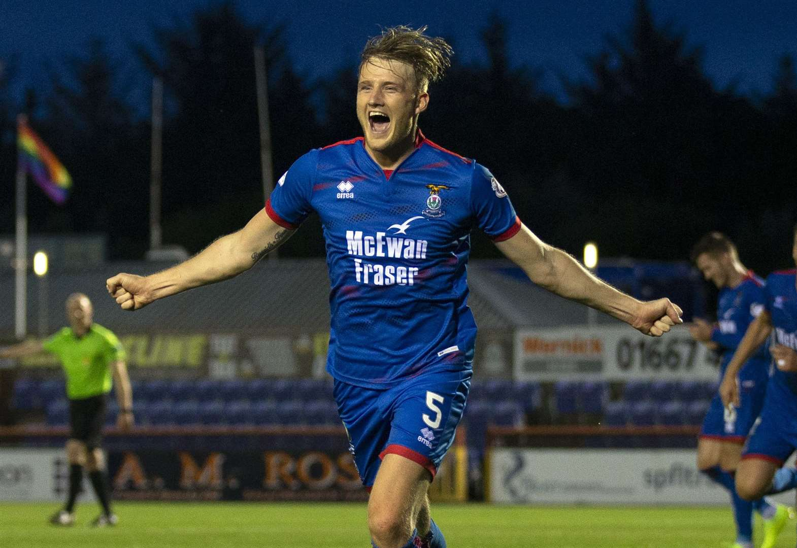 Inverness Caledonian Thistle says Donaldson deal to Ross County not done