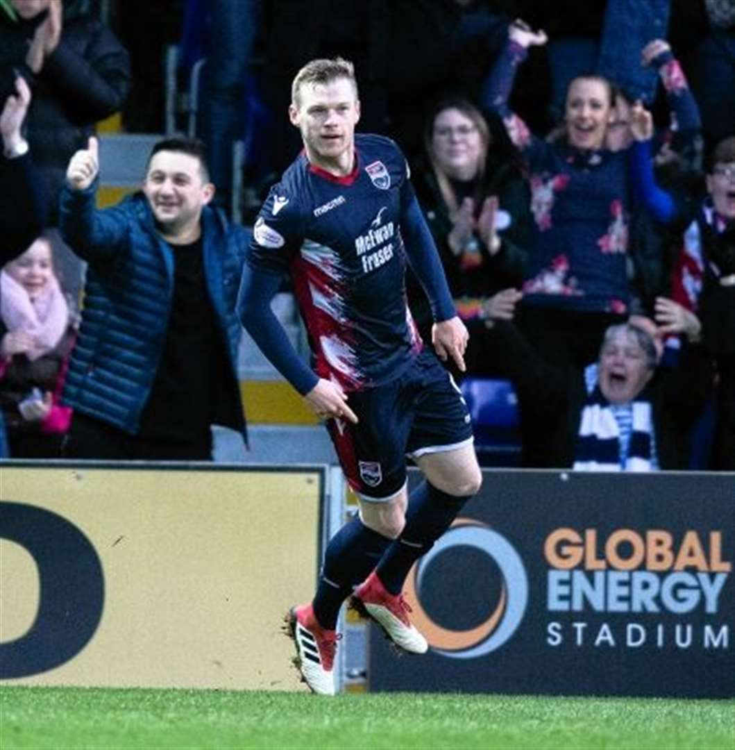 McKay hat trick has Ross County high on Ayr