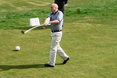 Billy Ferries was victorious at the North Golf Alliance fixture in Thurso.