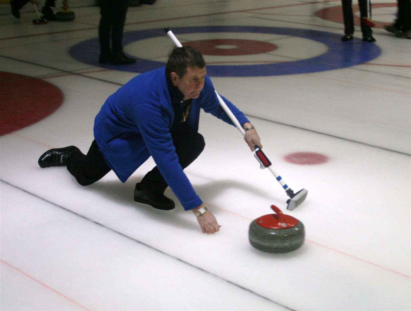 Locheye Curling Club skip Richard MacKenzie sits on top of the Ross-shire Curling Province A League – but he will come under pressure from Belmaduthy's Iain Fraser before the end of the season.