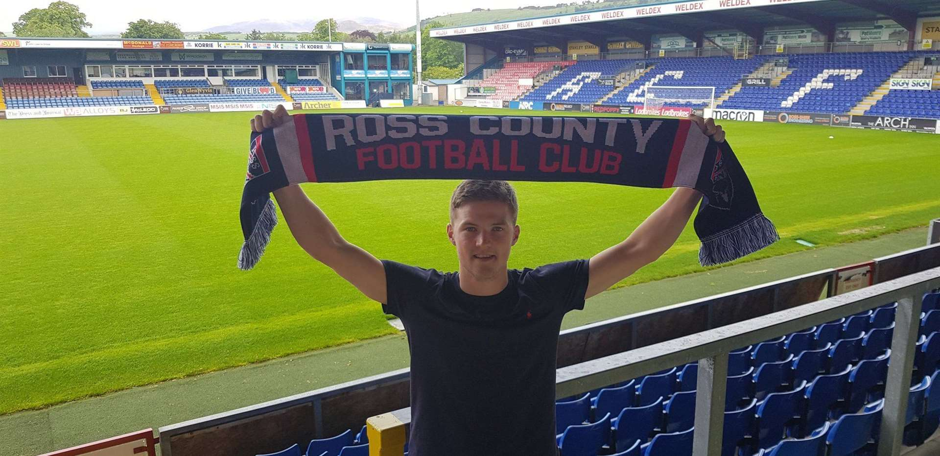 Blair Spittal has become Ross County's third signing of the summer.