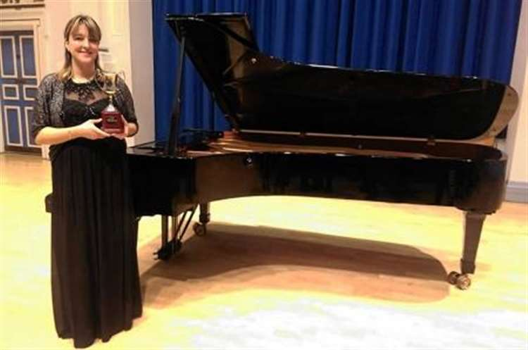 Practise pays off as Dingwall pianist hits the right note at major