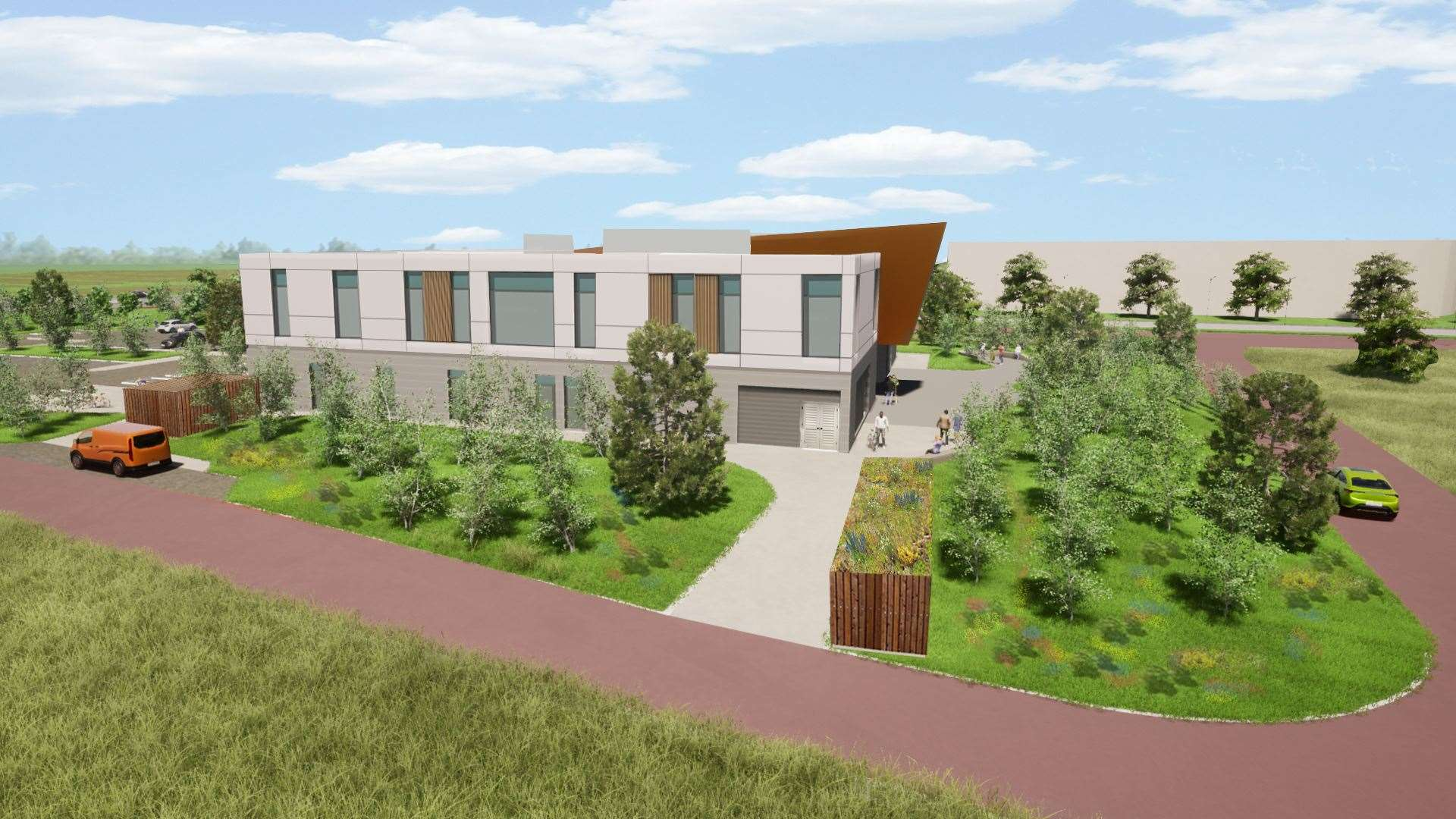 Proposed innovation centre for Inverness Campus