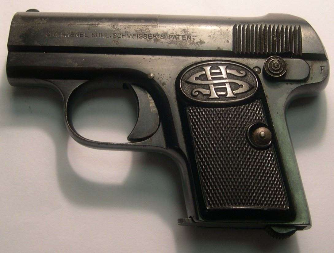 The gun used to kill Alistair Wilson.