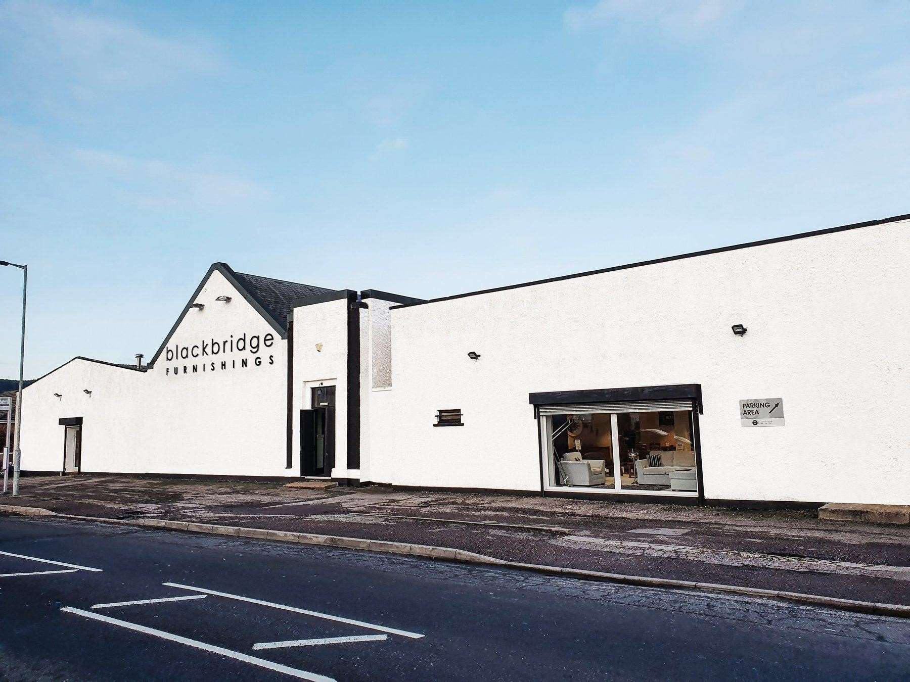 Blackbridge Furnishings in Inverness.