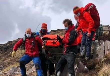 Walker's fall triggers Ross-shire mountain rescue team call out