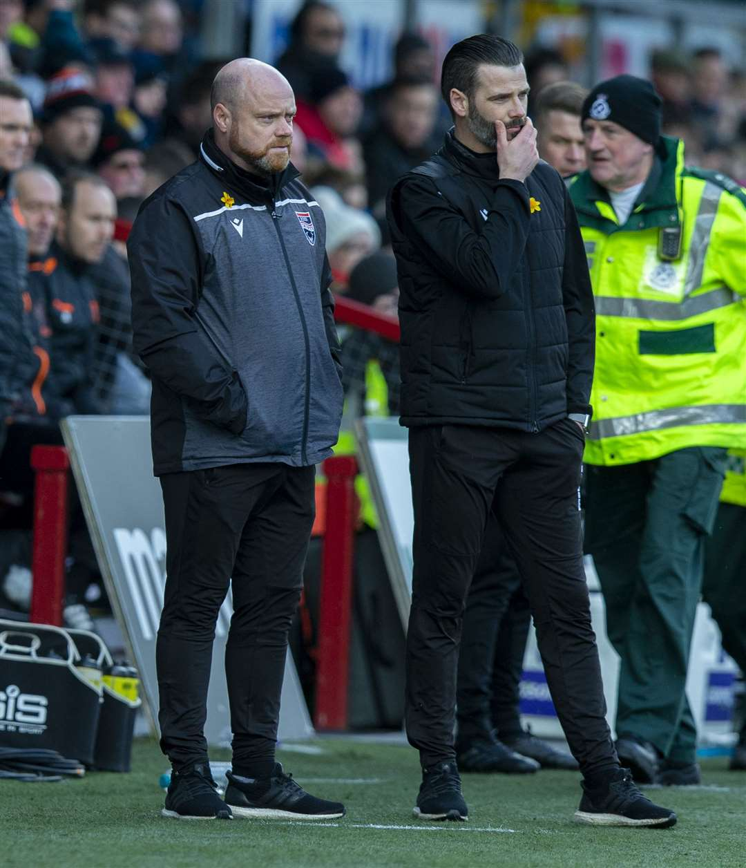 Ross County co-managers Steven Ferguson and Stuart Kettlewell have steered the side to safety. Picture: Ken Macpherson