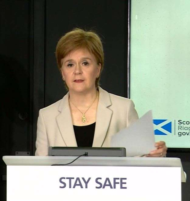 First Minister Nicola Sturgeon said 'there is no doubt that we are currently in a precarious position'.
