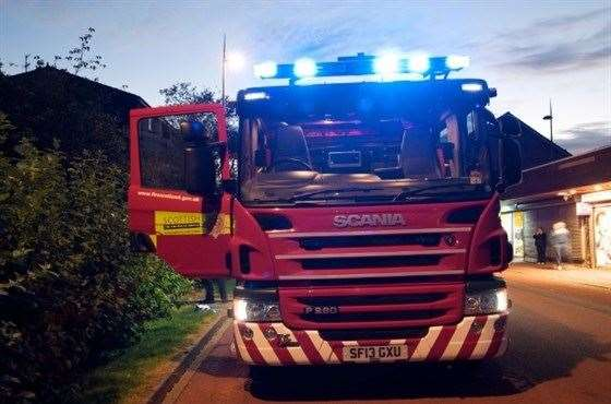 Invergordon Fire Crew Called Out To Early Morning Car Blaze