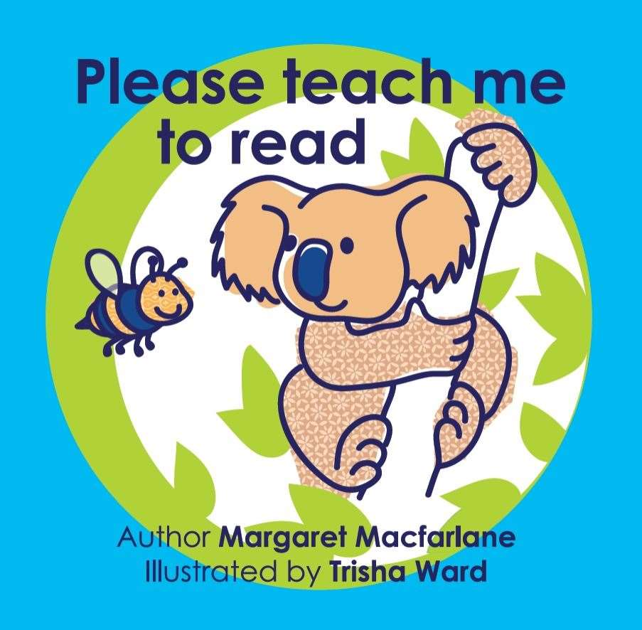 Please teach me to read by Margaret MacFarlane aims to help adults and children alike to boost their literacy skills.