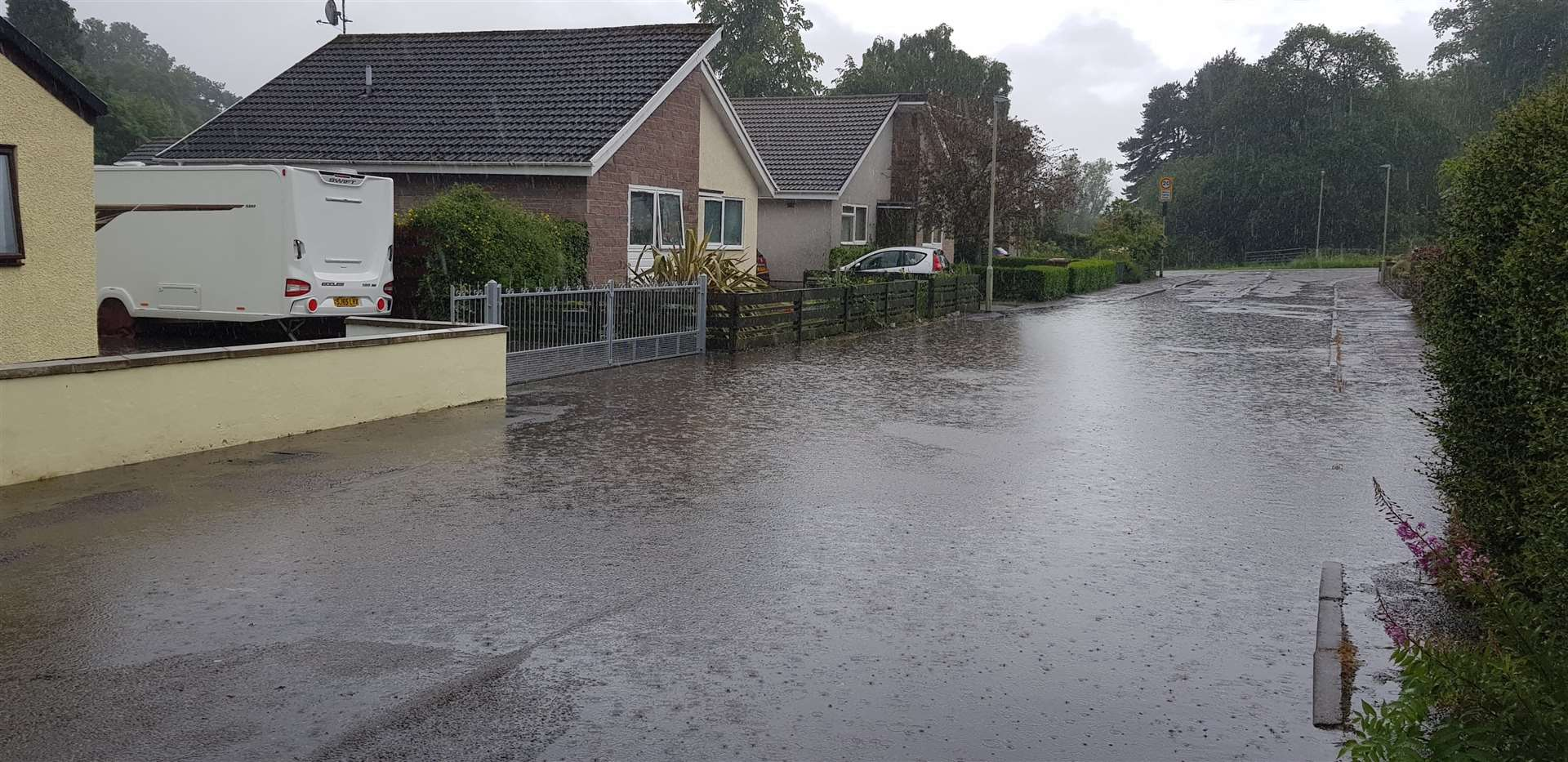 Flash floods have been a significant issue in Dingwall, prompting a pledge for action.
