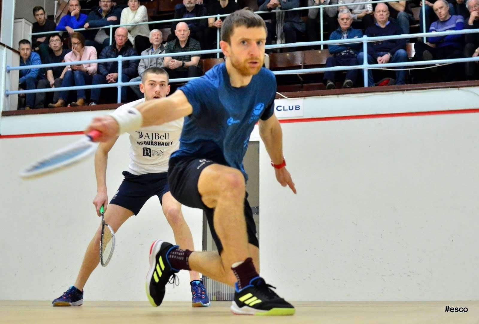 Alan Clyne is considering staying in squash as a coach after he stops playing. Picture: Steve Cubbins