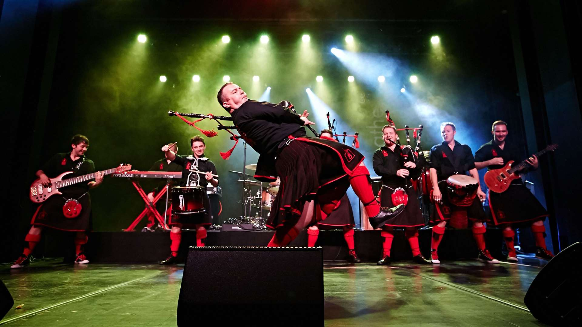 Red Hot Chilli Pipers.
