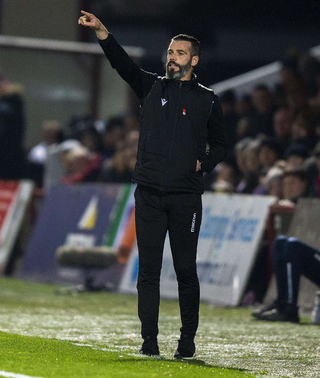 Picture - Ken Macpherson, Inverness. Ross County(0) v Rangers(4). 30.10.19. Ross County co-manager Stuart Kettlewell.
