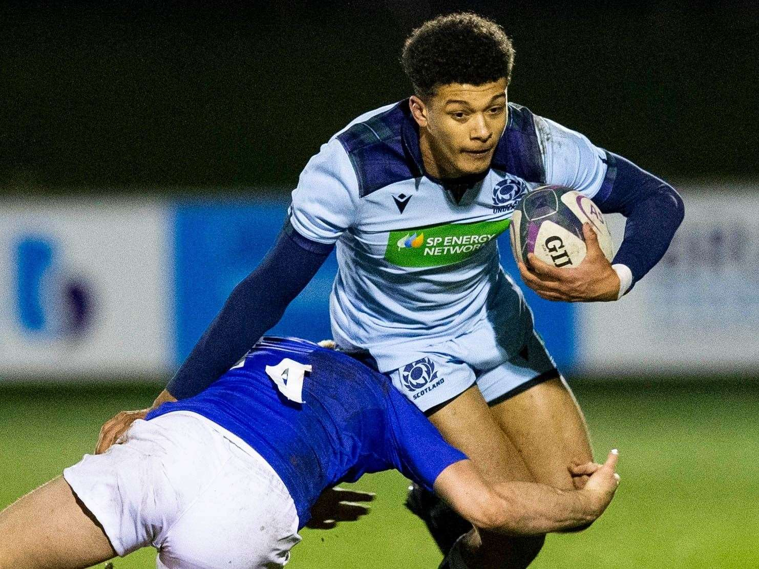 Jacob Henry started all five of Scotland under-20's 2020 Six Nations matches. Picture: SRU/SNS Group