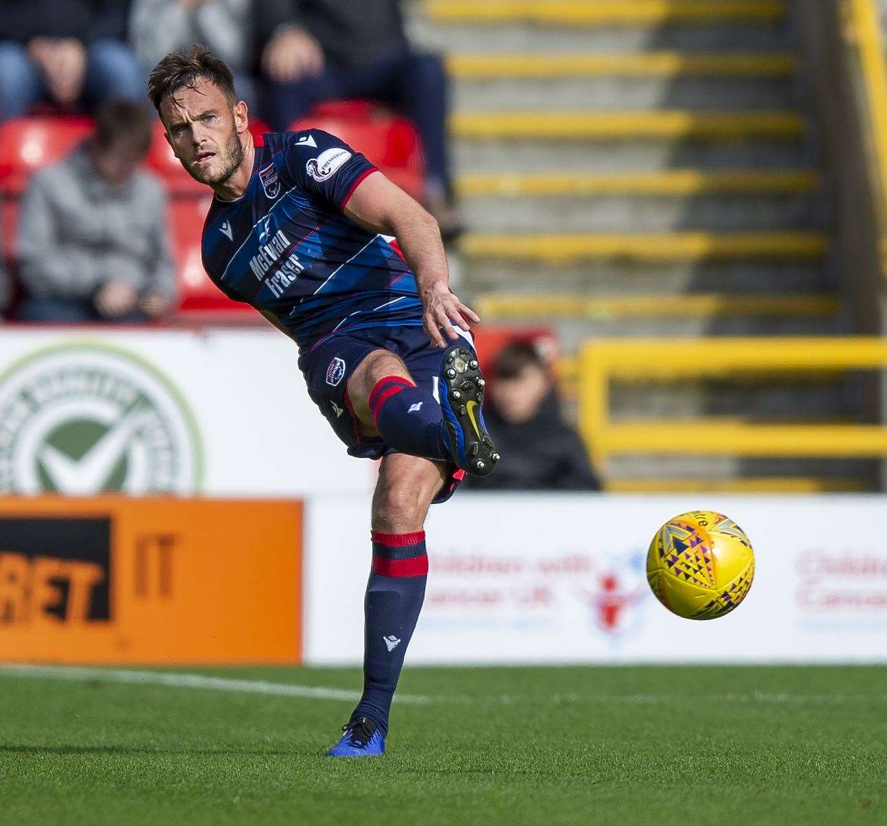 Ross County defender believes his old side St Johnstone will still pose a threat, despite sitting at the bottom of the table. Picture: Ken Macpherson