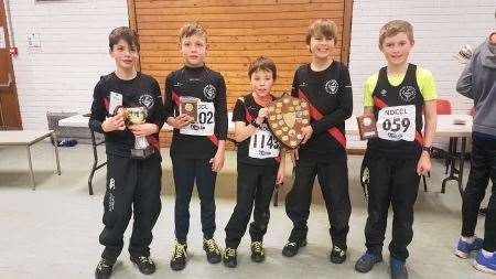 Ross County Athletics Club won the under-11 boys' title.